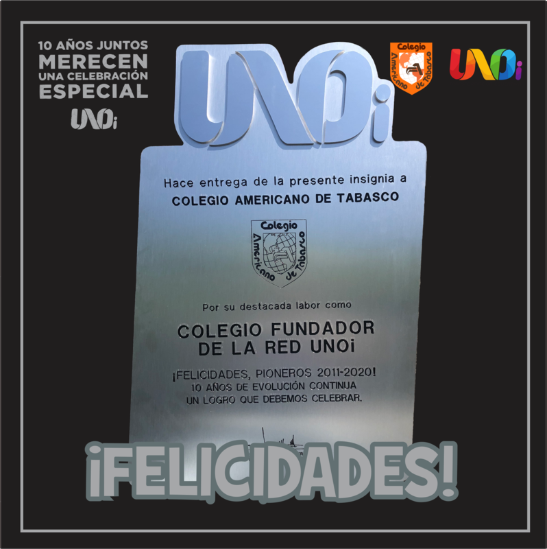 Reconocimiento como Colegio fundador de la Red UNOi Featured Photo