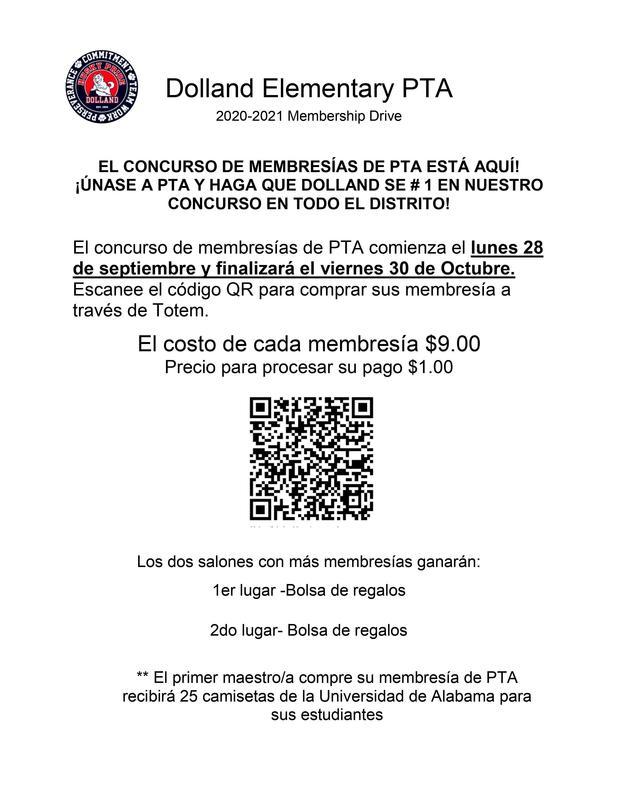 PTA Membership- Spanish Featured Photo