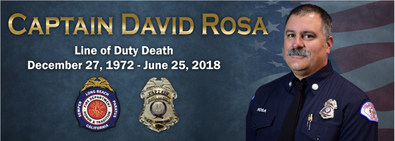 In memory of Fire Captain David Rosa Featured Photo