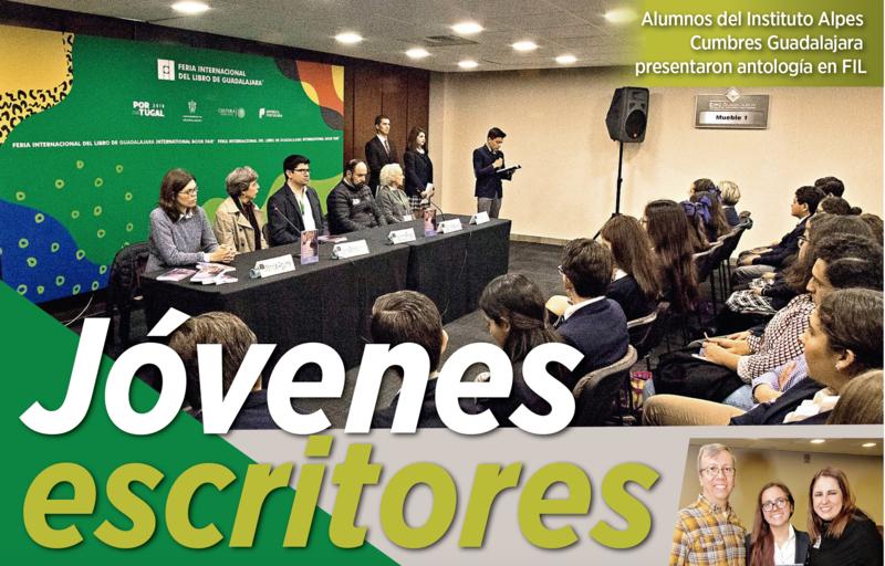 Alumnos del Instituto Alpes Cumbres Guadalajara presentan libro en la FIL Guadalajara Featured Photo