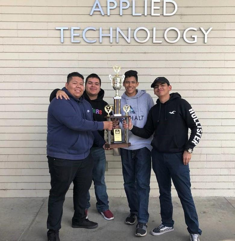 Baldwin Park and Sierra Vista high school students in BPUSD's automotive technology program brought home bronze in a regional skills competition.