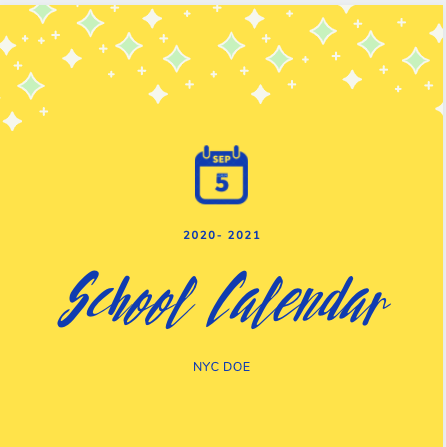 2020-2021 School Year Calendar Featured Photo