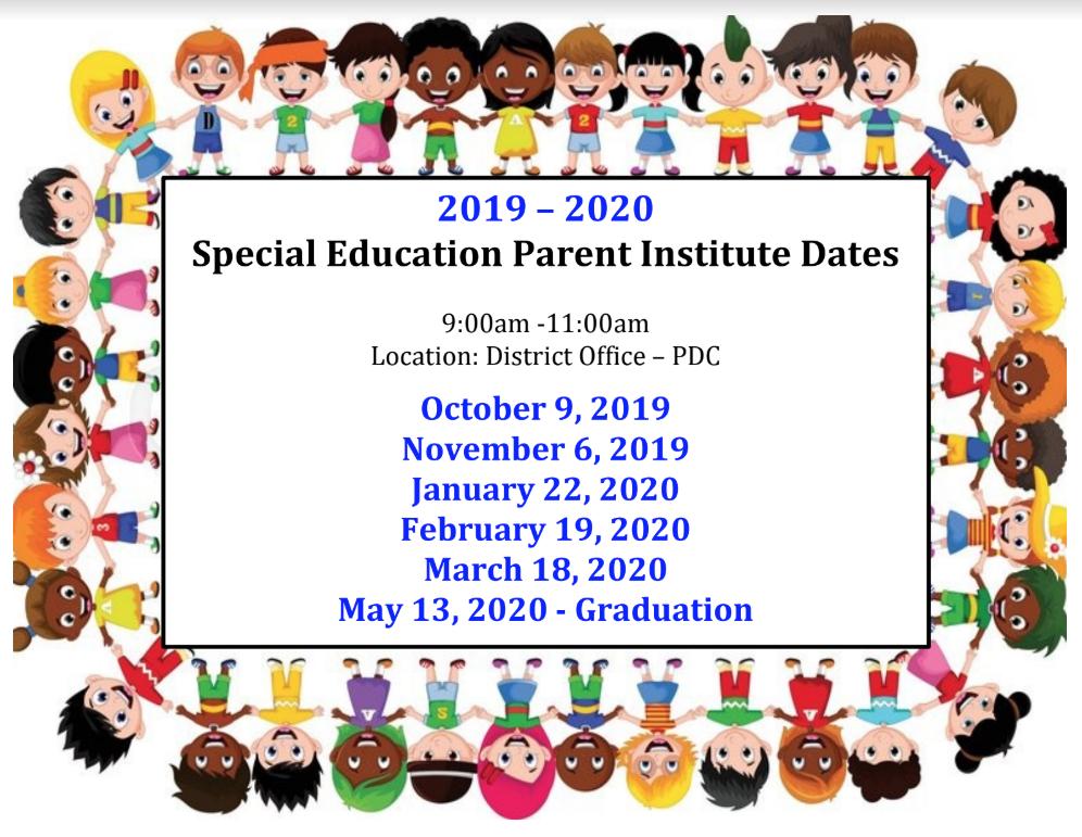 parent institute dates