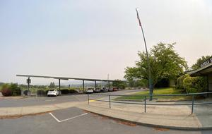 Calpella Elementary School's new solar/parking shade structure 9 2020