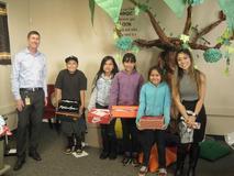 Shoe Give-away! Thank you, Edison!