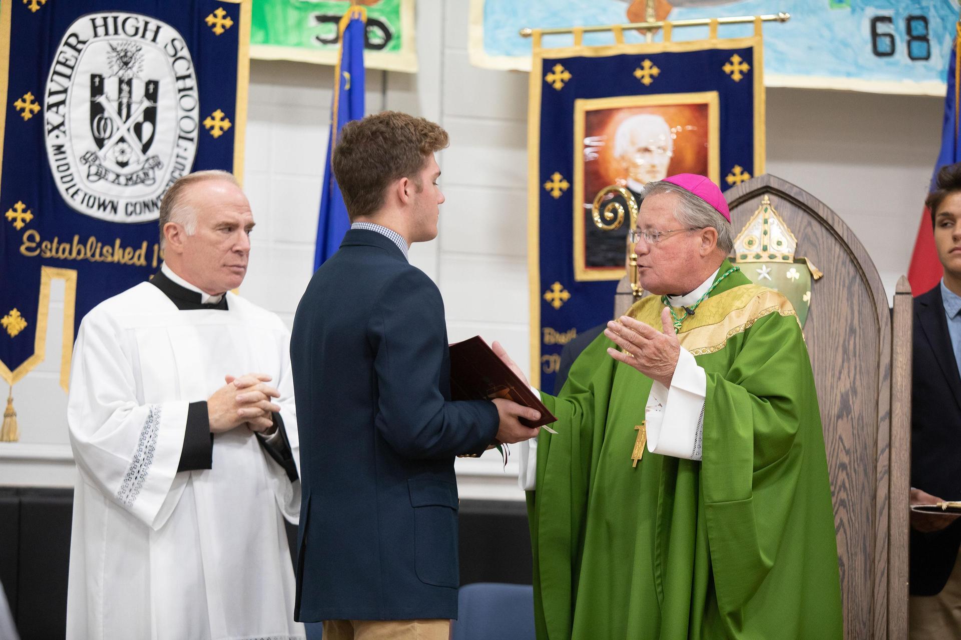 Mass at Xavier
