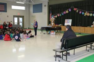 CJES Author Visit Second Grade