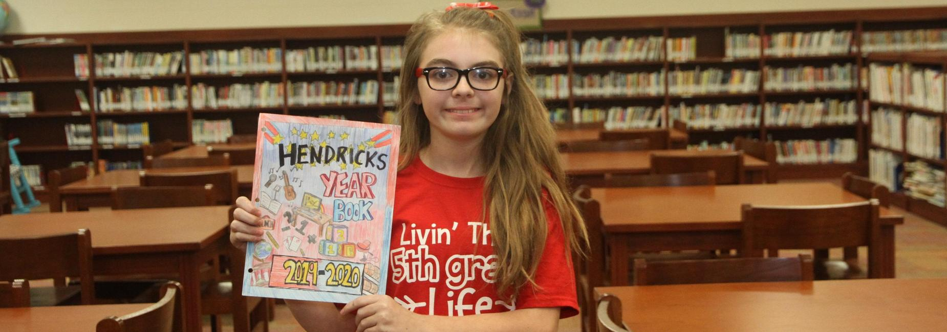 Olivia Greer Yearbook Cover Winner