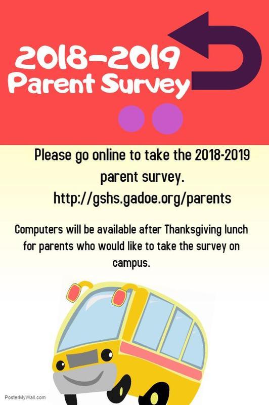 2018-2019 Parent Survey is available now! Featured Photo