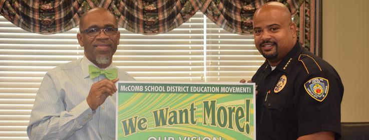 Police Chief endorse movement