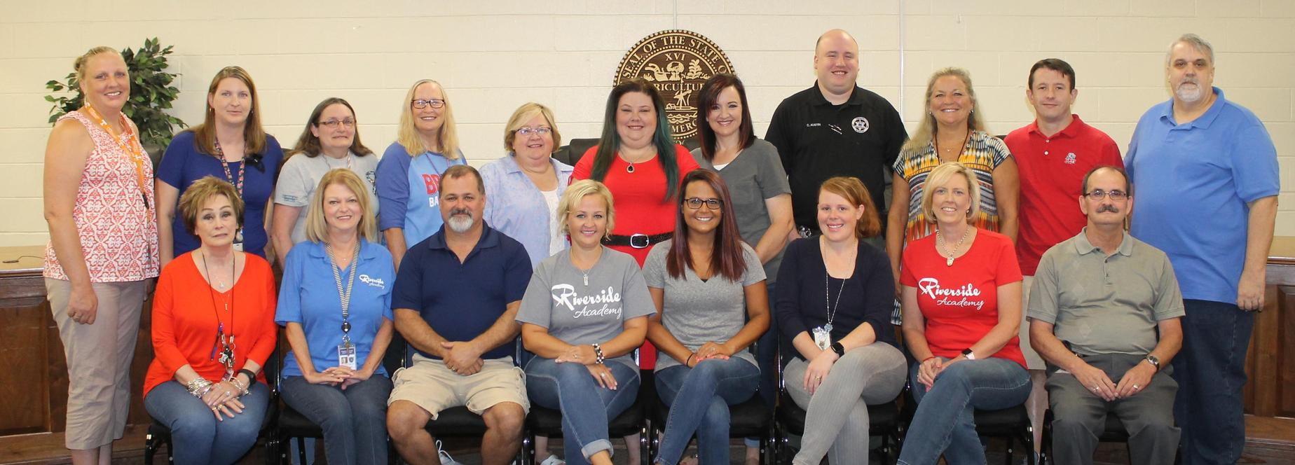 Riverside Academy staff