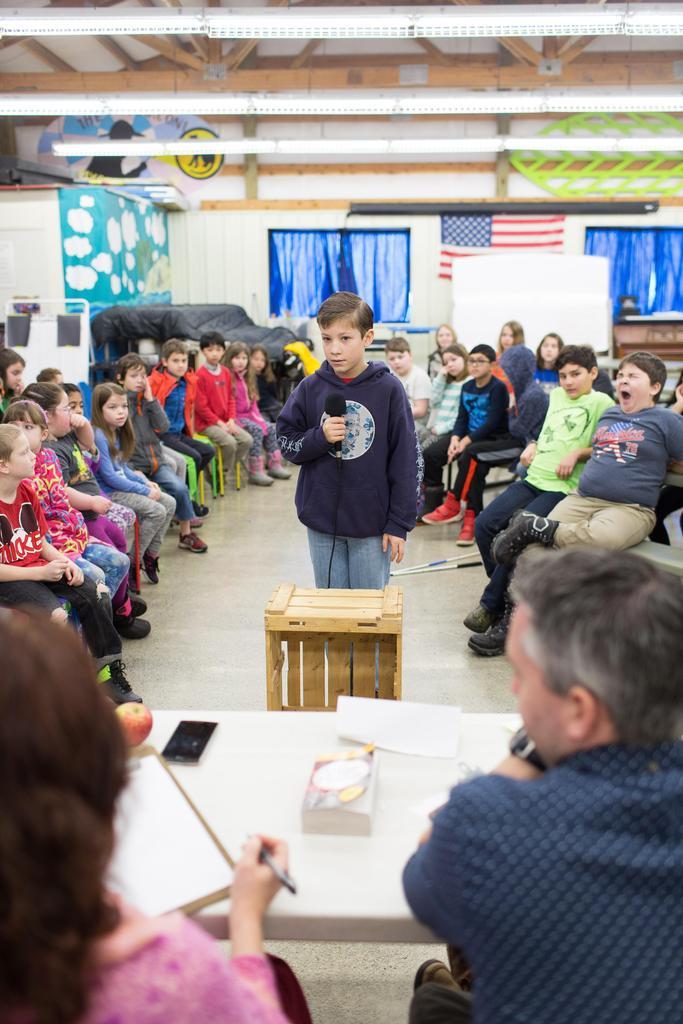 Moscow Charter School Scripps Spelling Bee Round 1 Contestants