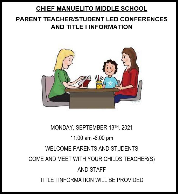 Parent Teacher Conference Featured Photo