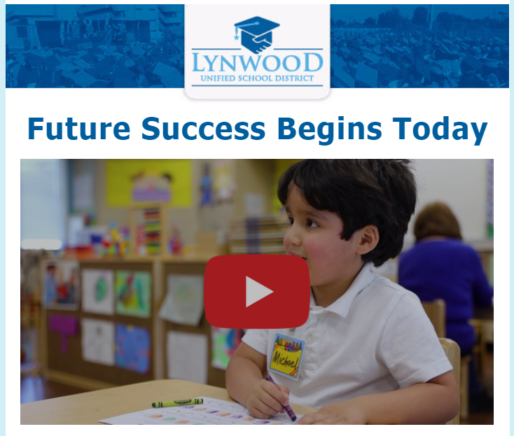 Lynwood Unified's Early Education Program is Preparing Future Scholars! Featured Photo