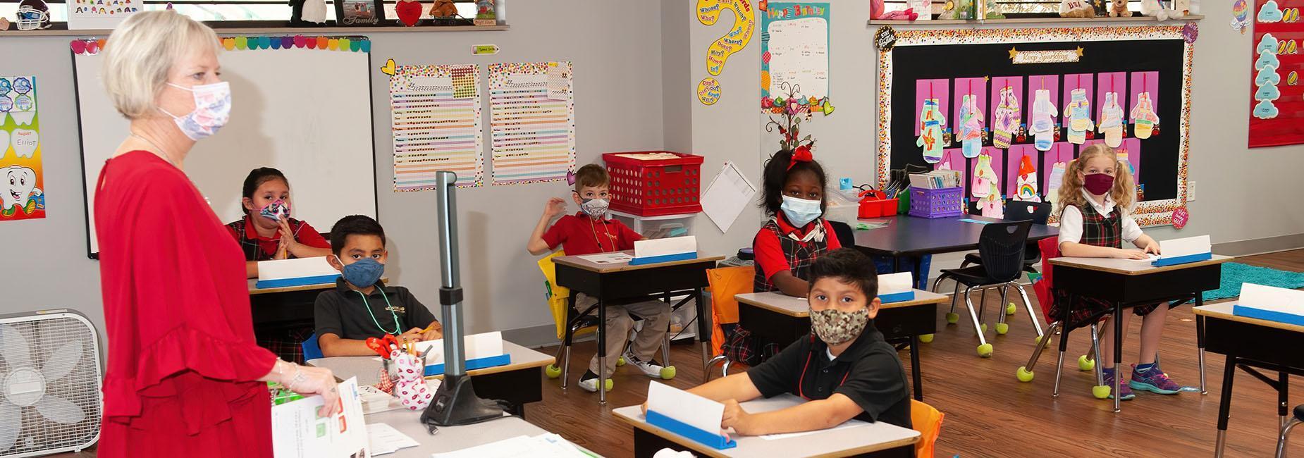 Northland Elementary classroom
