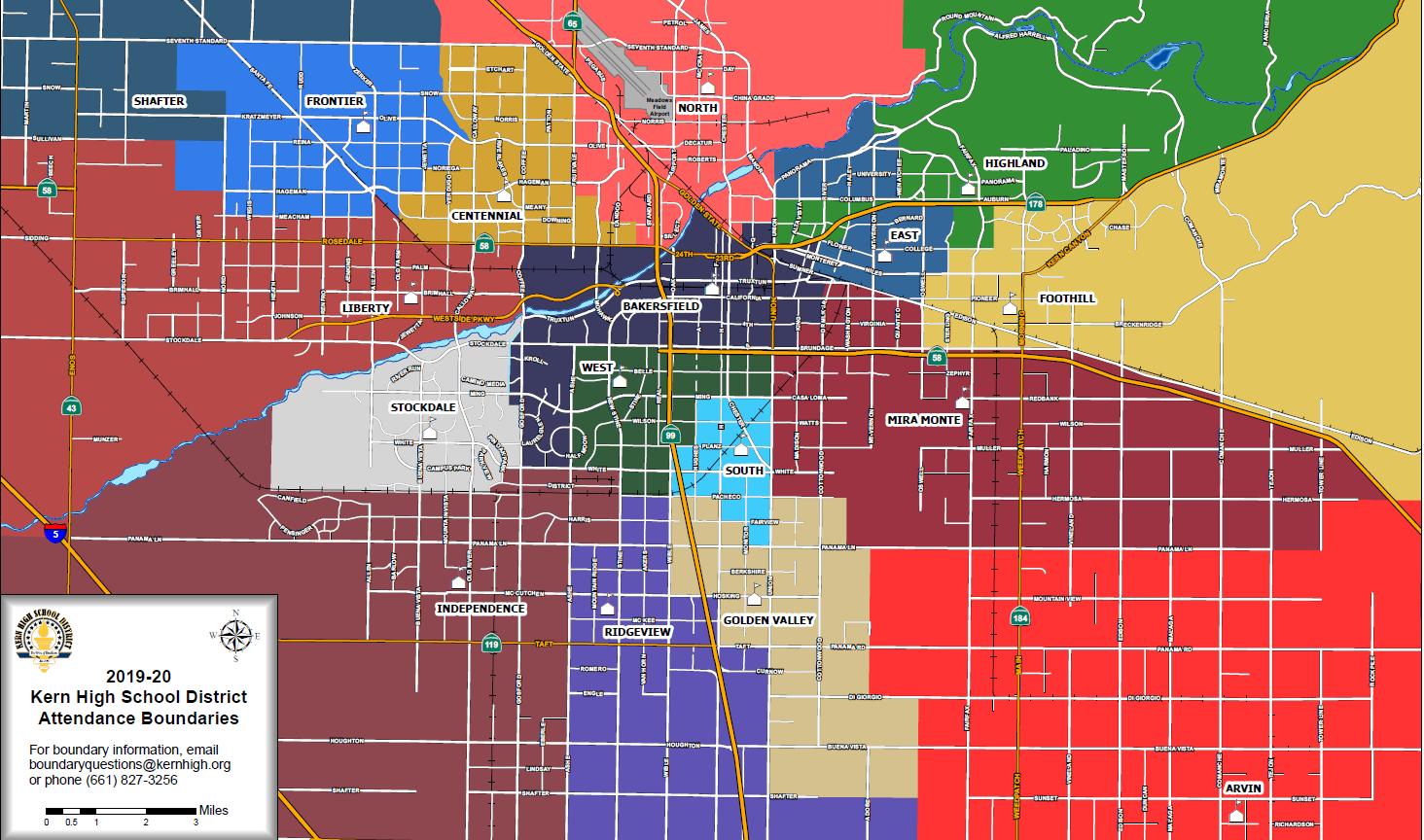 KHSD Boundary Map 2019-2020