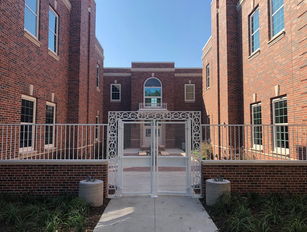Hyer Elementary Courtyard
