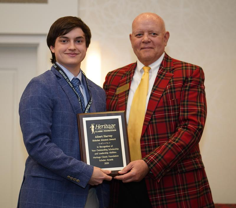 Cal Harvey awarded Heritage Classic Foundation Scholarship Featured Photo