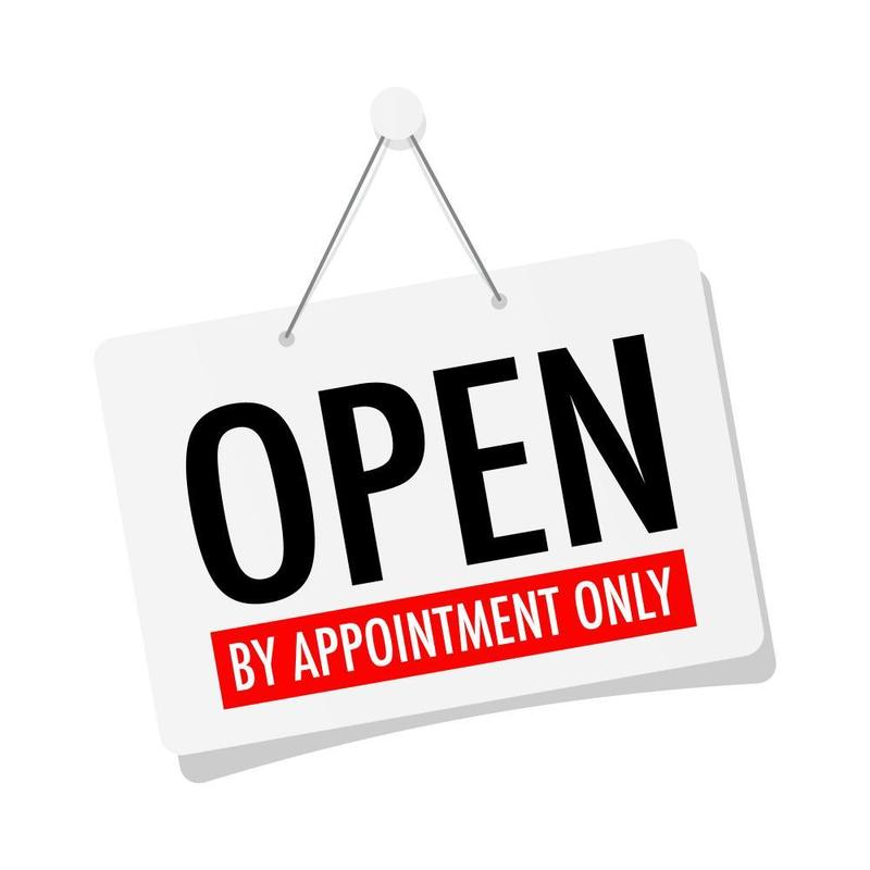 Open By Appointment Only! Featured Photo