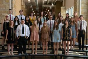 CHS Top 15 percent graduates