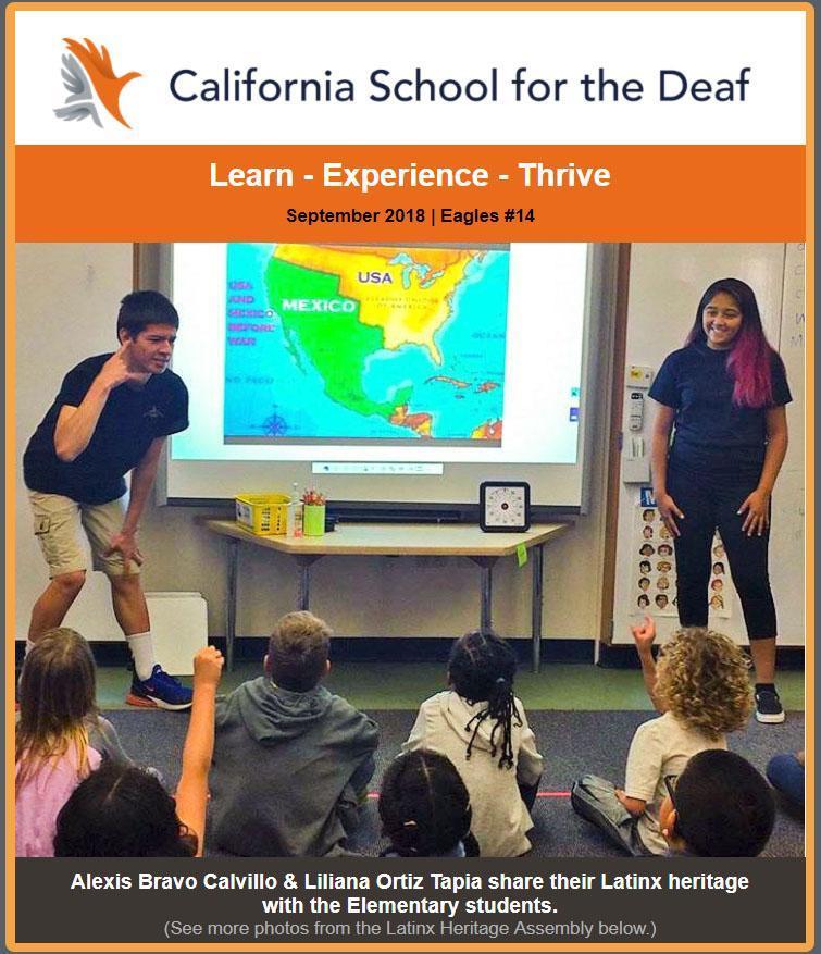 Read the September 2018 Cal News