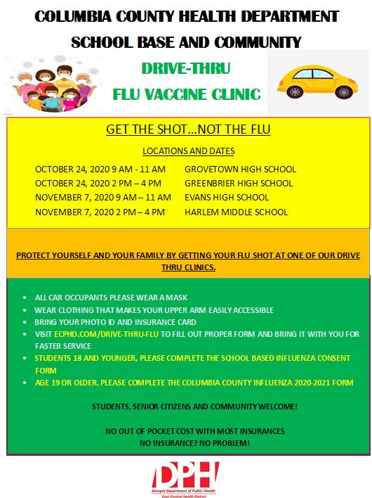 Flu Vaccine Clinic Featured Photo