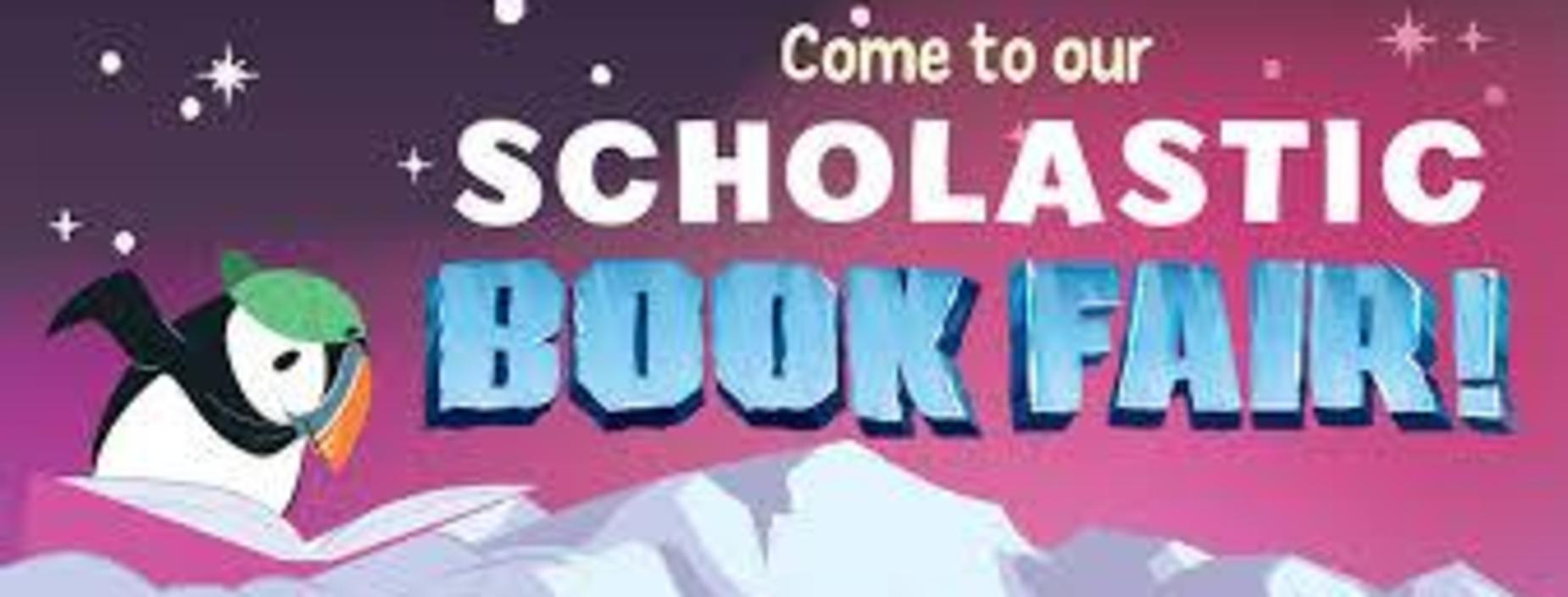 Banner for Scholastic Book Fair