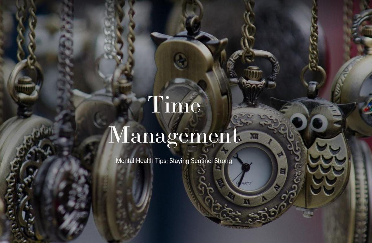 Time Management cover page