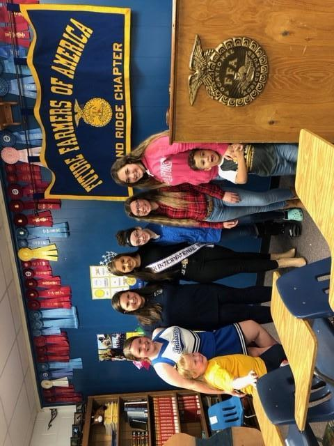 FFA meets with Miss Teen International 2019 - Madeline Wright