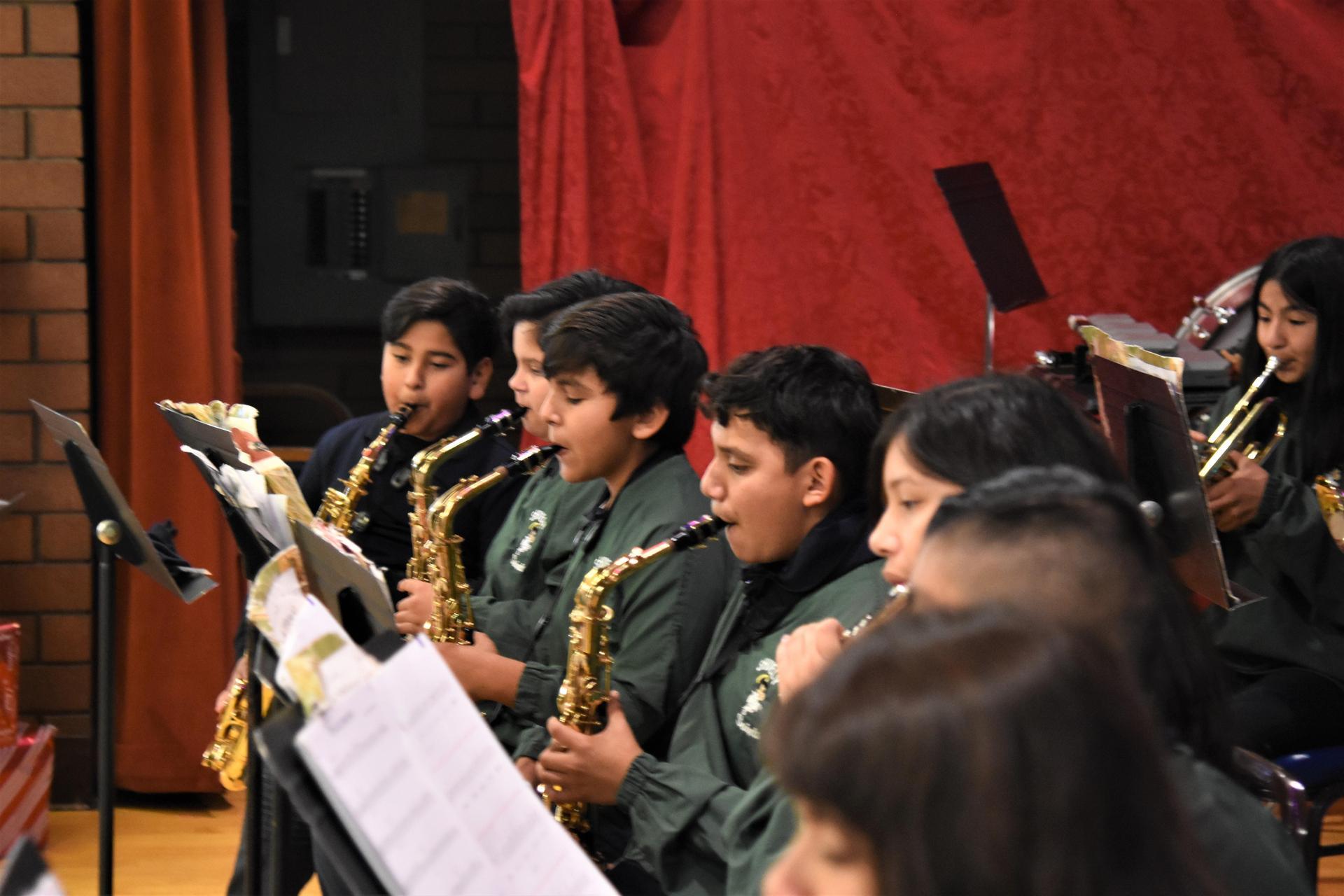 Band at Senior Center 2019