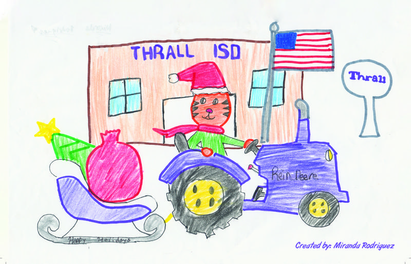 Student Artwork Featured on District Holiday Card Thumbnail Image