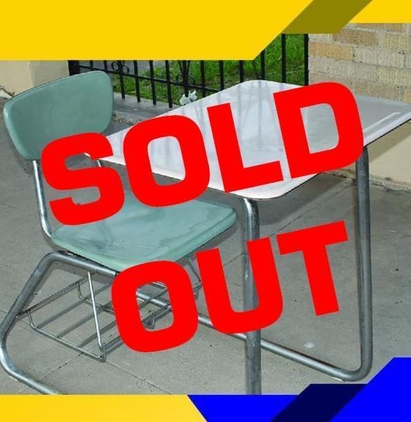 Desks sold out