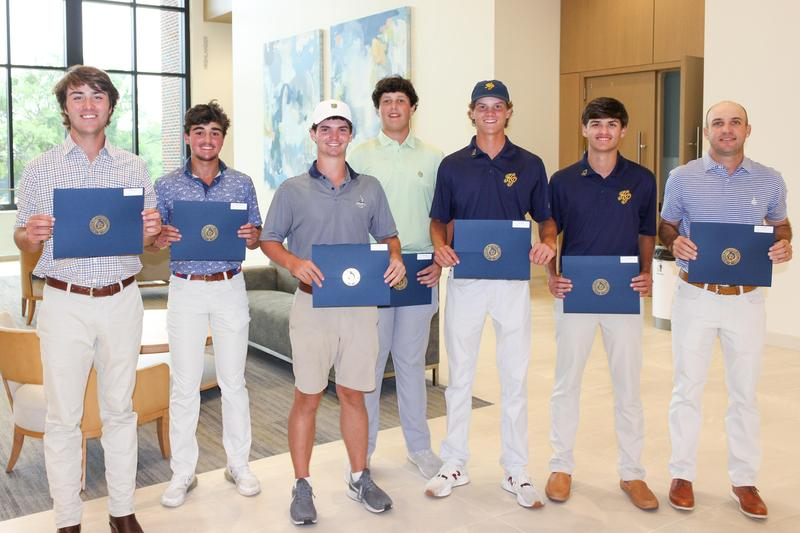 Golf Team Honored by Trustees