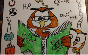 The Love of Science by Hanna N, 4th Grade