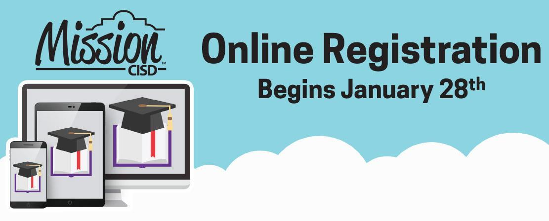 Online Registration starts January 28th