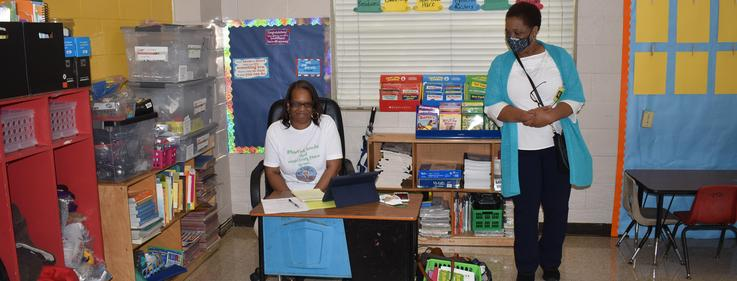 Kennedy Early Childhood Center first virtual learning day