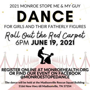 Flyer with information about the Monroe County Health Council's