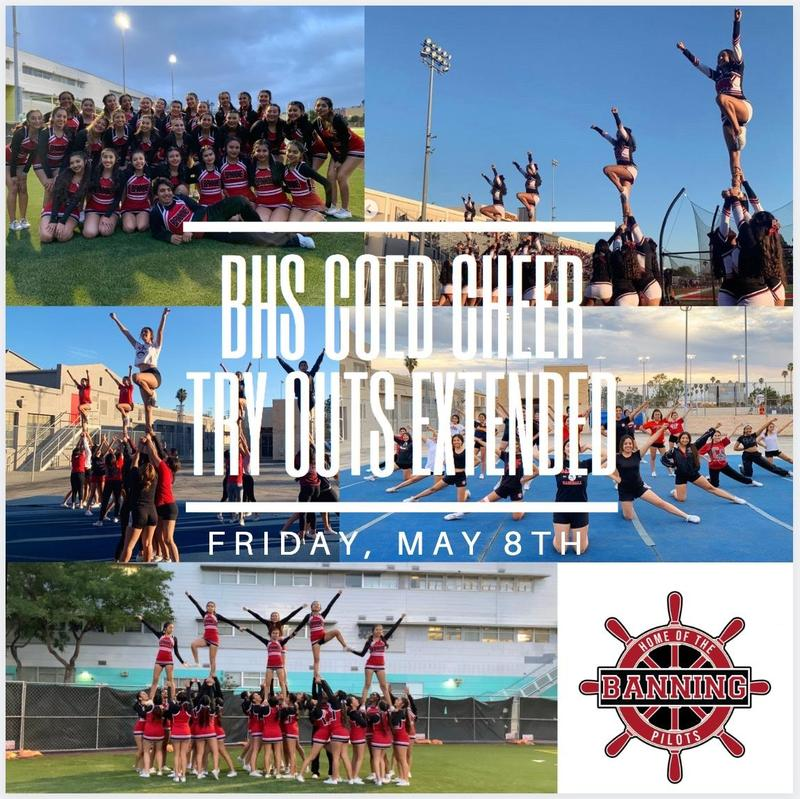 BHS Coed Cheerleading 2020-2021 Application Featured Photo