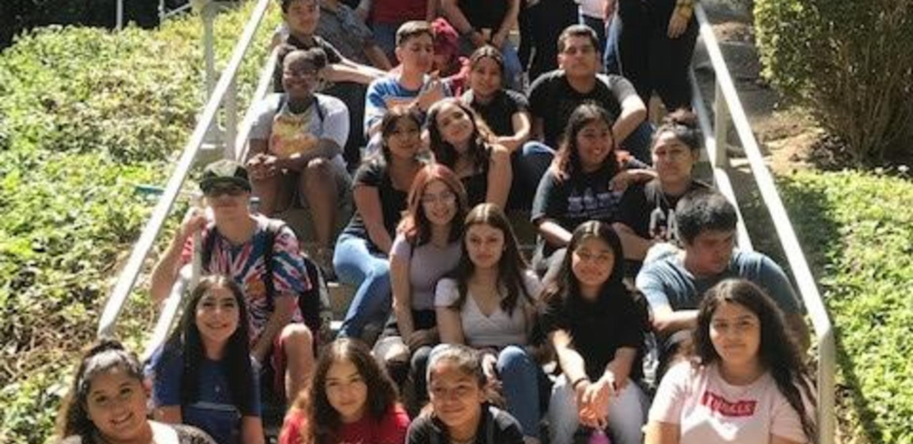 VAHS and SEEO students took a field trip to Cal Poly Pomona's Bio trek an educational experience that emphasizes the need to share knowledge, values, and behaviors that support sustainability on a finite Earth. #proud2bepusd