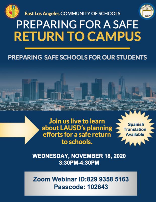Preparing for a Safe Return to Campus Featured Photo