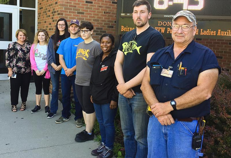 GTP Interns Volunteer at THS Thumbnail Image