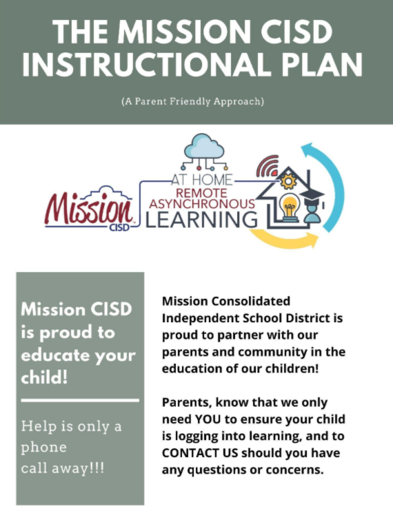 An update for parents on the flexible instructional plan Featured Photo