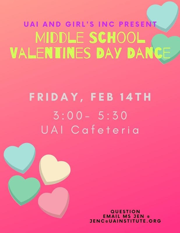 We're having a middle school dance! Featured Photo