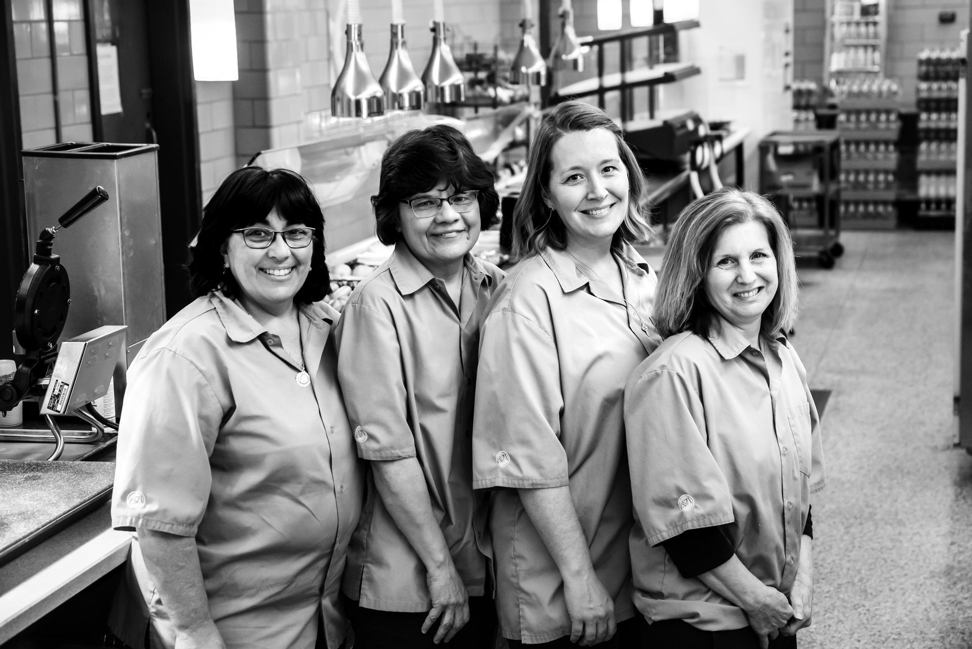 Seton LaSalle cafeteria staff