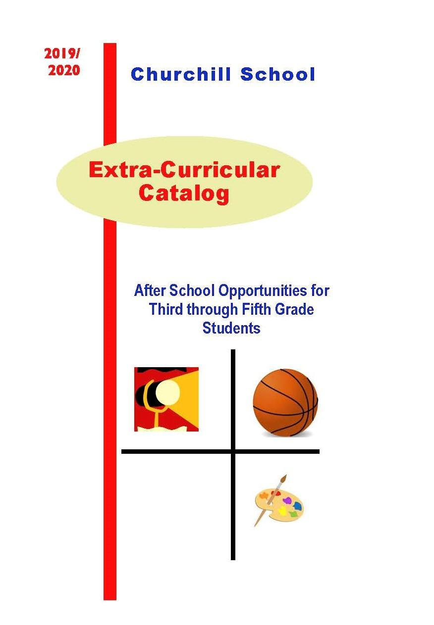 Extra Curricular Catalog Cover Pate
