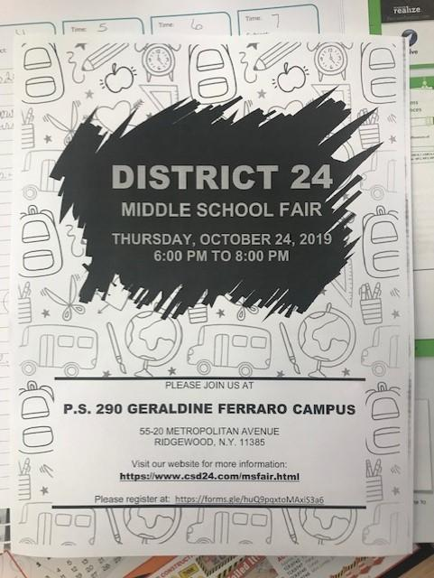District 24 - Middle School Fair Featured Photo
