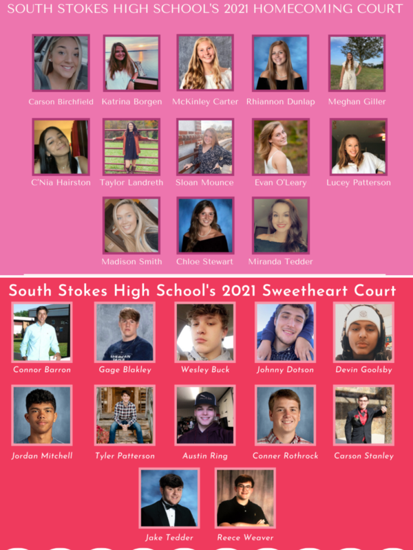 2021 Homecoming and Sweetheart Courts