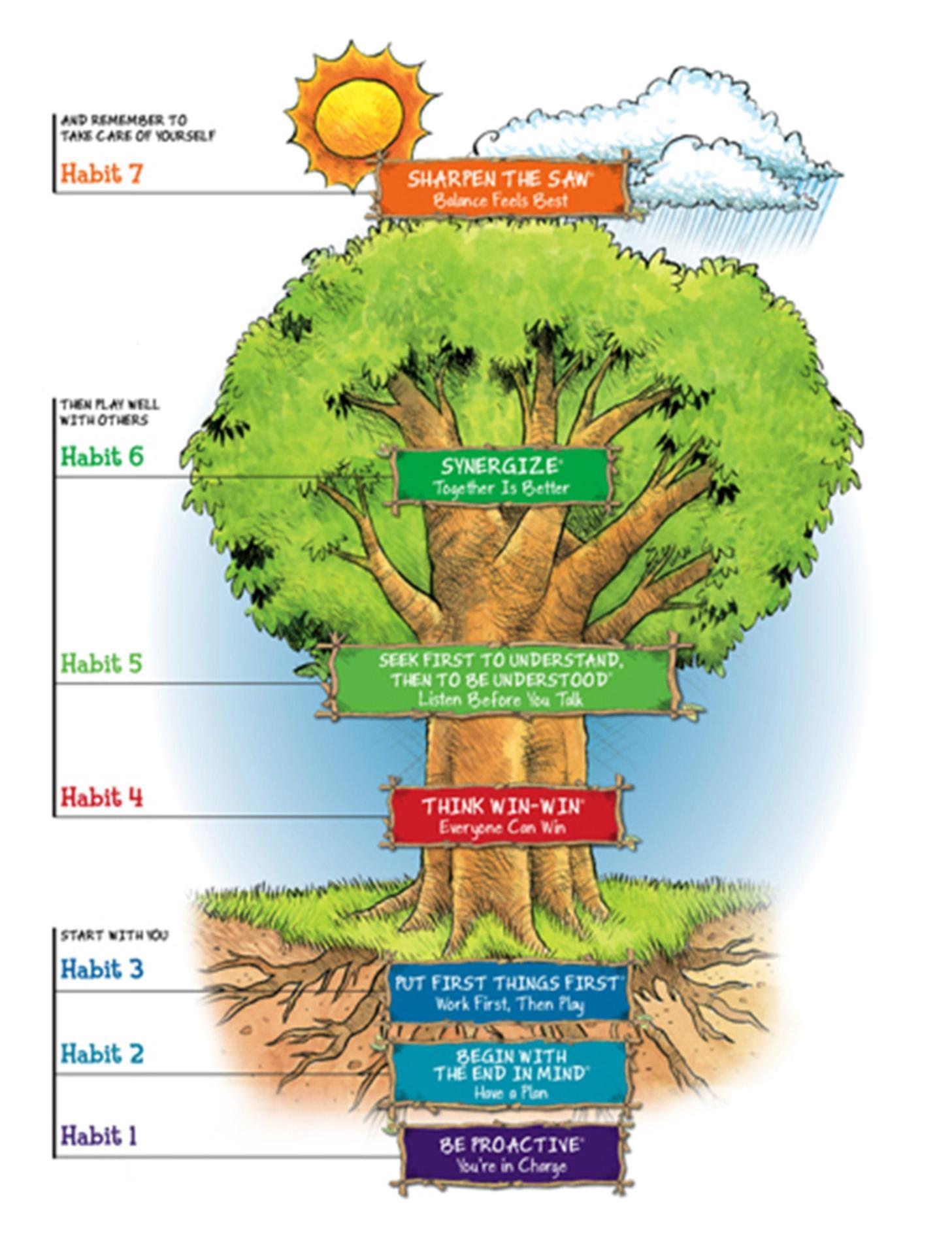 Leader In Me - 7 Habits Tree