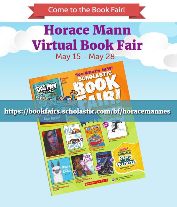 HM Virtual Book Fair Flier