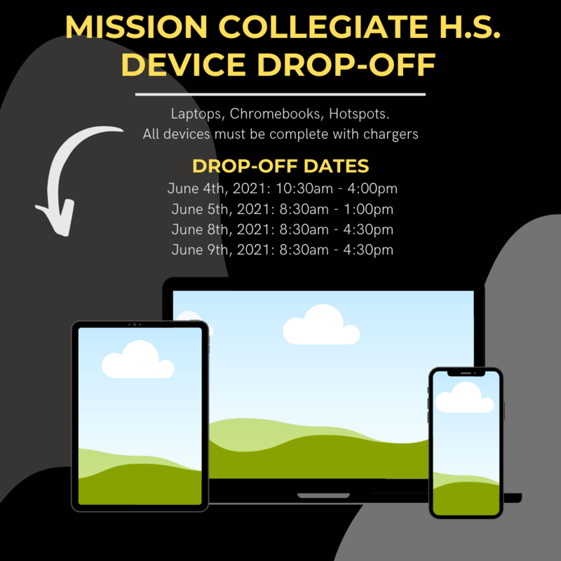 Device Drop-Off Schedule Featured Photo